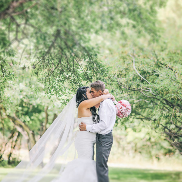 Brianna & Denis Wedding at Ralph Klein Park Calgary