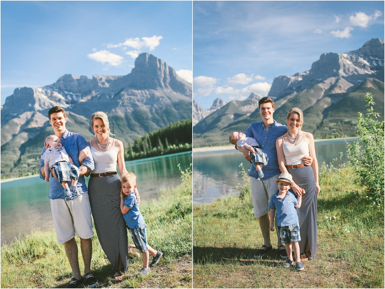 Canmore Family Photographer Winter Lotus Photography