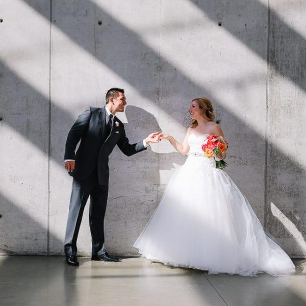 Andrea + Brent Wedding at Hillhurst United Church in Calgary
