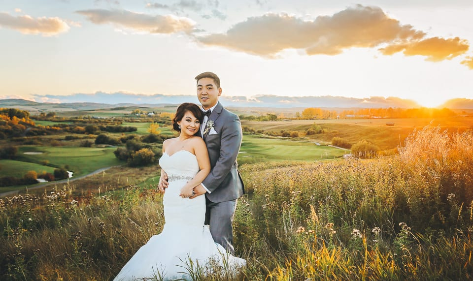 Cindy + Danny Wedding at Sirocco Golf Club in Calgary