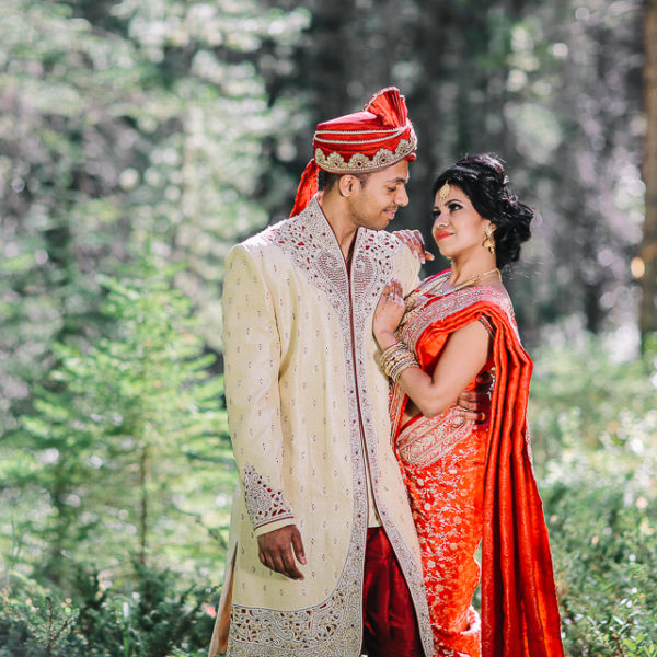 Mou + Puru Wedding at Silvertip Resort in Canmore