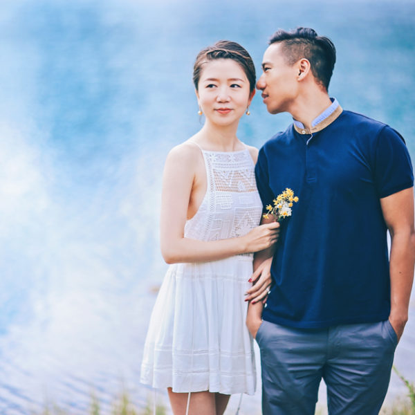 Bin Hao + Ben Couple Session in Canmore Alberta