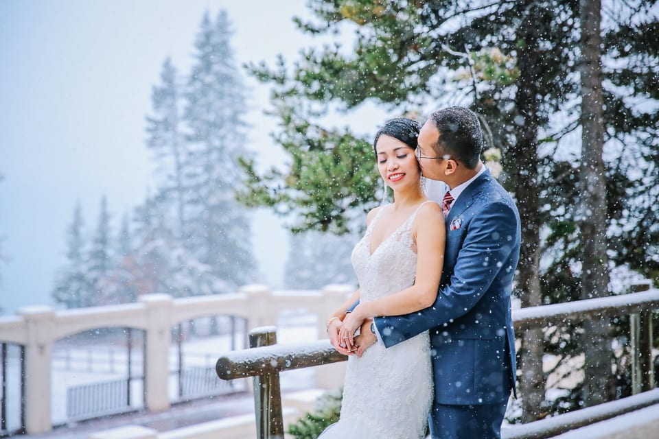 Wedding at The Fairmont Chateau Lake Louise